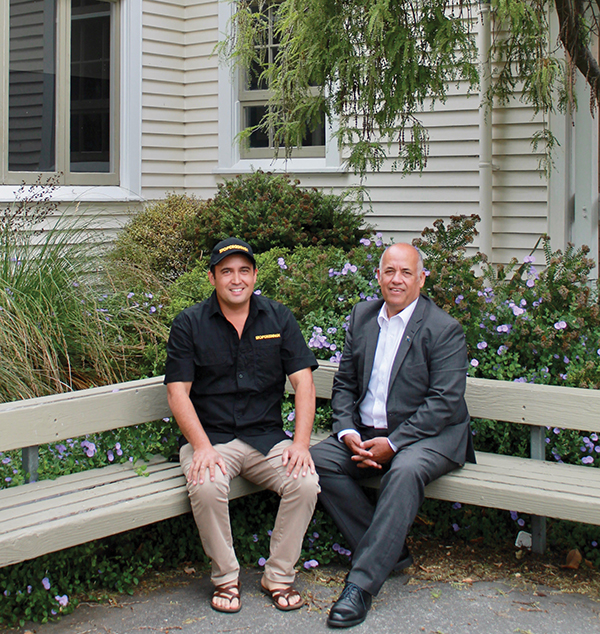 Son and father, Reuben and Fred Morley, share a strong tie to Hastings Boys' High School.