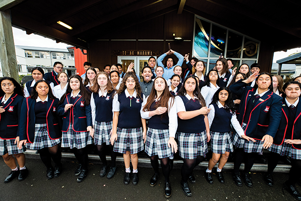 Kapa haka has been revitalised at Newlands College. Kealyn wants Māori children in mainstream schools to have the same opportunities as those who attend kura.