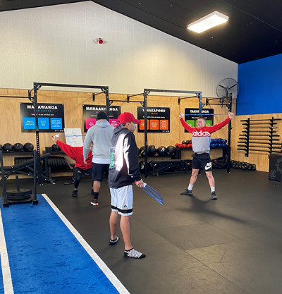 The values – displayed prominently in the gym – resonate strongly with the members of the IBA programme and Tauranga Boxing Academy.