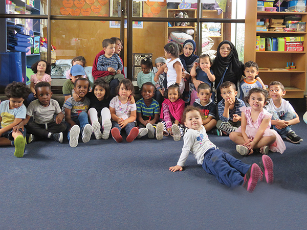 Children and teachers at An Nur Child Education and Care Christchurch have been touched by the kindness and support they have received.