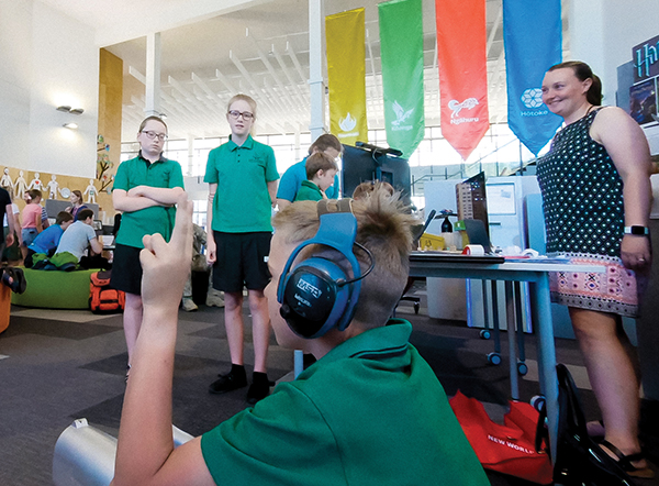 Rolleston College's Activate event saw students and members of the community sharing and learning about the innovative potential of digital technology